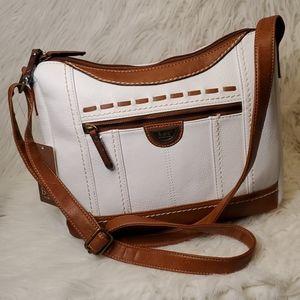B.O.C Double Zipper Crossbody/Shoulder Bag NWT